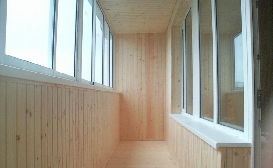 Отделка и ремонт балконов и лоджий в тюмени.