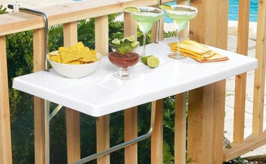Навесной стол на балкон.