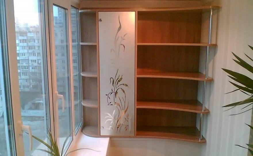 Формы шкафов на балкон. - галерея работ остекление - каталог.