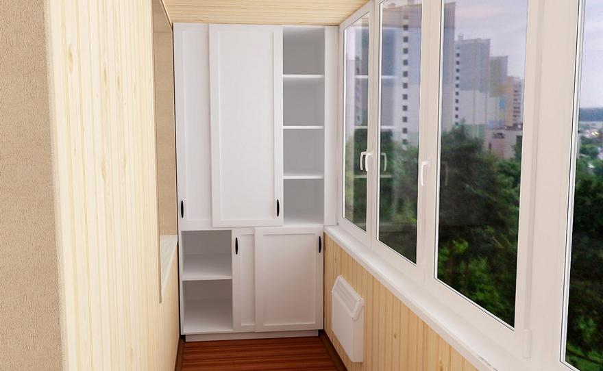 Изготовление мебели на балкон в тюмени.