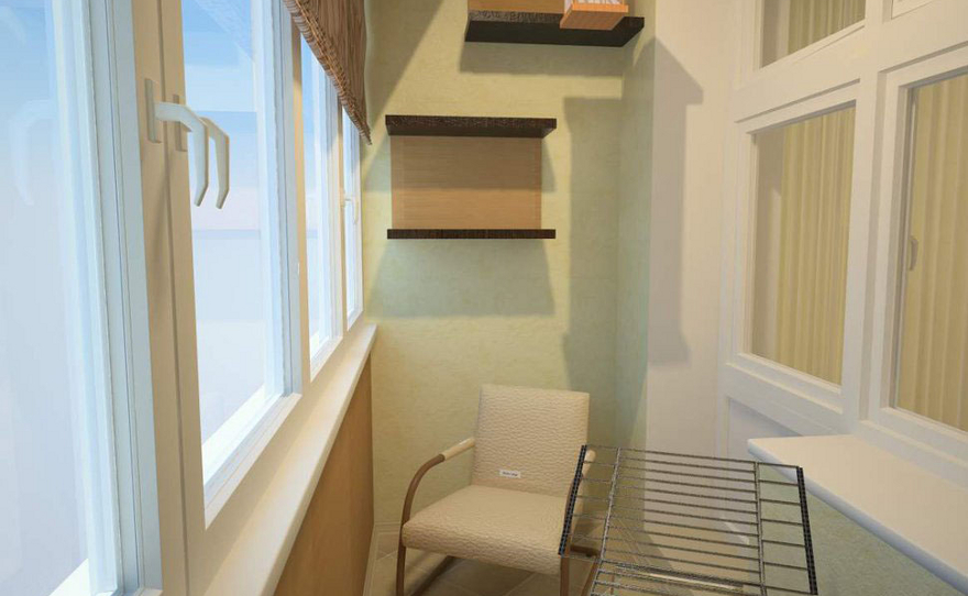 Интерьер кухни и балкона дизайн кухни - фото, описание, сове.