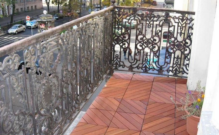 Пол на балконе и особенности разных конструкций.