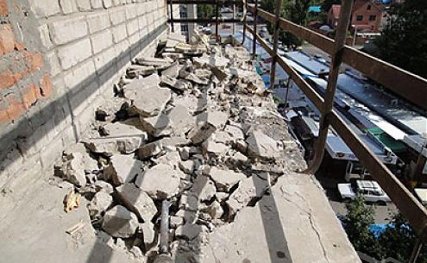 Демонтаж балкона - остекление балконов - балконы ростов на д.
